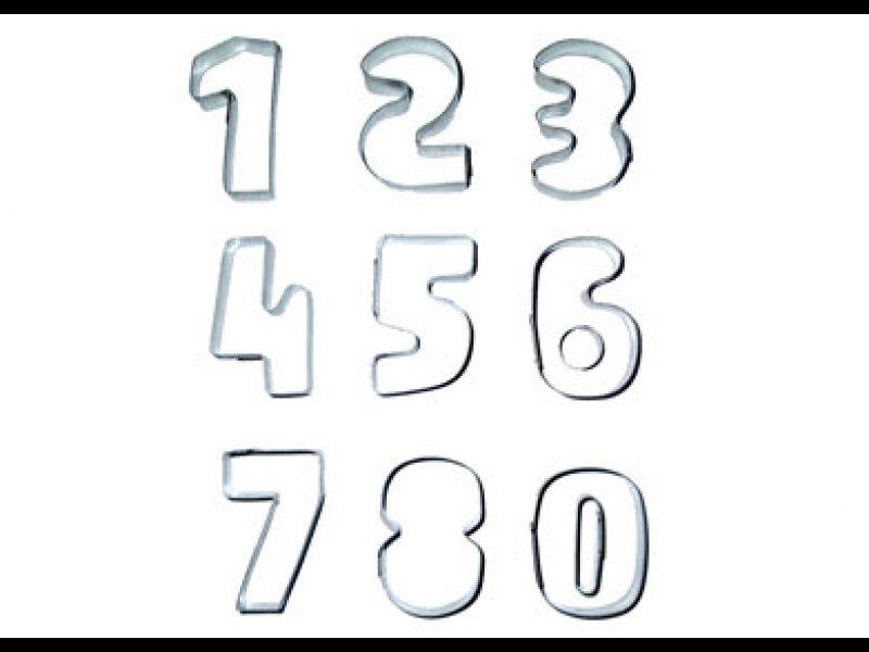 Juego de Números (5.5  x 3,5 cm)